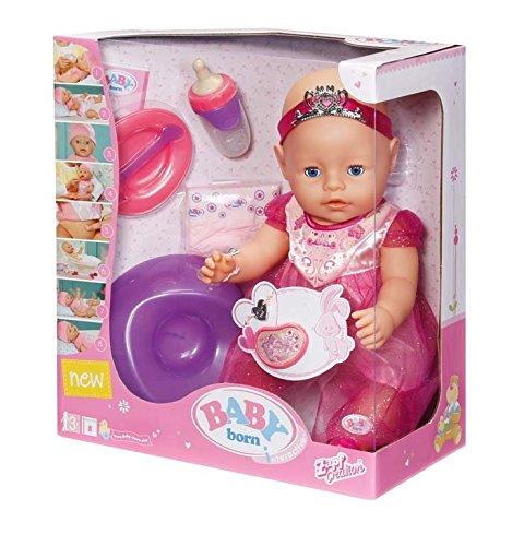 Zapf Creation 819180 - Baby born interactive Prinzessin Puppe