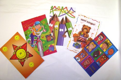 Assorted Children's Birthday Greeting Cards 30