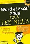 Word et Excel 2008 Mac Poche Pour les...