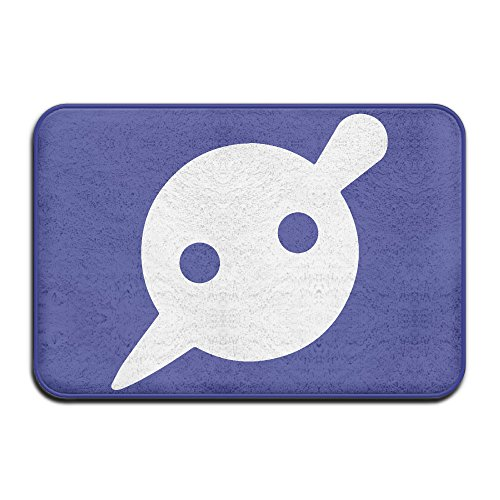 Knife Party Logo Non-slip Doormat 24*16-inch White