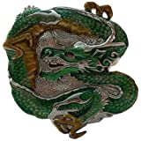 Green Chinese Dragon Belt Buckle - Sale!