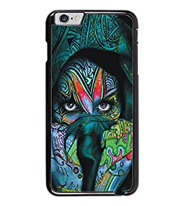 PrintDhaba Eyes D-5449 Back Case Cover for APPLE IPHONE 6 (Multi-Coloured)