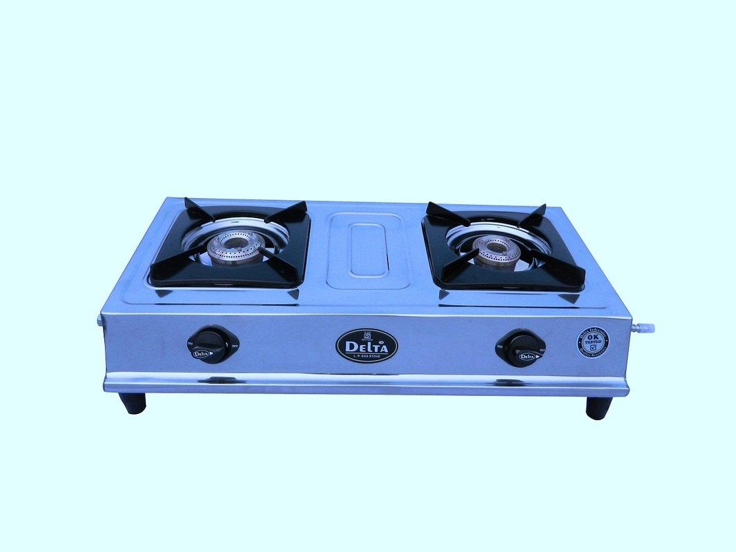 Delta 4953 Stainless Steel 2 Burner Gas Cookt..