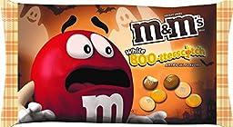 M&M\'s White Boo-tterscotch Butterscotch M&M\'s Halloween Candy 8oz Bag