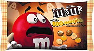 M&M's White Boo-tterscotch Butterscotch M&M's Halloween Candy 8oz Bag