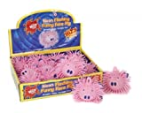 9cm Funny Face Pink Pig Puffer Tierspielzeug Wih Blinklicht Squishy Ball Spielzeug