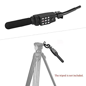 Fotga Lanc Terminal Zoom Remote Control 2.5mm Jack, Handle for Canon Sony Camcorder DSLR Video Camera DSR-PD100P DSR-PD100AP DSR-PD100AP DSR-PDX10P HDR FX1E, XL1 XL1S XM1 XM2, Fancier WF717H FC270H (Color: Cable with Handle, Tamaño: Remote controller with Handle)
