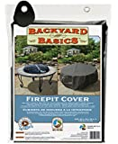 "Backyard Basics Premium Round Fire Pit Cover, 40"" x 20"""