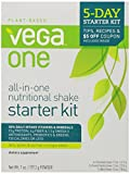 VEGA One All-in-One Nutritional Shake, Starter Kit, Variety Pack of 3 Flavors