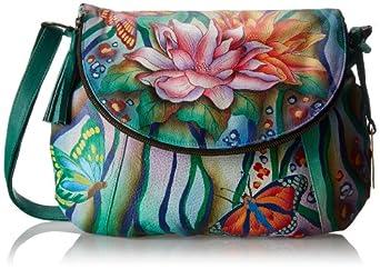 Anuschka 482 Shoulder Bag,Zebra Garden,One Size
