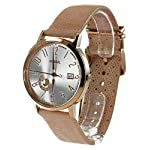 Fossil Women's ES3751 Vintage Muse Gold-Tone Stainless Steel Watch with Leather Band