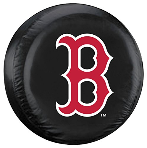 Fremont Die Boston Red Sox Large Tire Cover Black B Logo