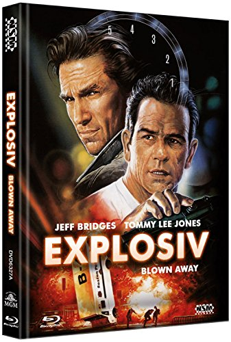 Explosiv - Blown Away - uncut (Blu-Ray+DVD) auf 666 limitiertes Mediabook Cover A [Limited Collector's Edition] [Limited Edition]