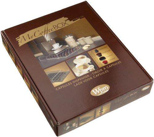 mixer wpro 97064 cafeti re espresso rangement tiroir capsules compatible nespresso dolce. Black Bedroom Furniture Sets. Home Design Ideas