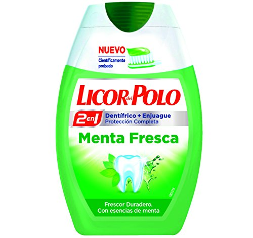 LICOR DEL POLO - 2 IN 1 fresh mint 75 ml-unisex