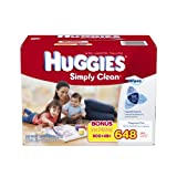 Keep Huggies Simply Clean Wipes close at hand for life's big messes. For dirty hands at dinnertime or cleanup at the changing table, Huggies Simply Clean Wipes are there for everyday use. Your baby can stay clean and healthy with the help of Huggie...