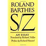 S/Z: An Essay ~ Roland Barthes
