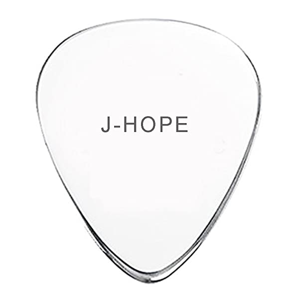 Nationinfashion Jhope J Hope Bts Engraved Guitar Picks Memorabilia