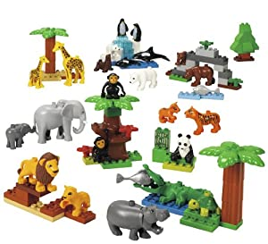 LEGO Education DUPLO Wild Animals Set 779218 (98 Pieces) by LEGO Education