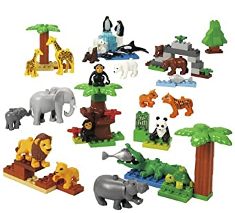 LEGO Education DUPLO Wild Animals Set 4646268 (98 Pieces)