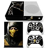 GoldenDeal Xbox One S Console and Wireless Controller Skin Set - Mortal Fight - XboxOne S Vinyl