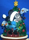 Disney Minnie Mouse Christmas Nightlight & Extra Bulb UL Approved 120 Volt Indoor Use
