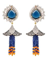 Akshim Multicolour Alloy Earrings For Women - B00NPYAZNA