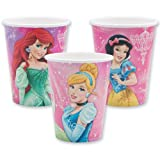 Disney Princess Cups - Party Supplies - 8 per pack