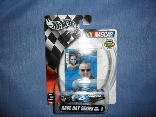 Mark Martin 2003 Hot Wheels Racing #6 Viagra Ford Taurus 1/64 NASCAR Diecast . . . Race Day Series and Comes with Collectors Card.