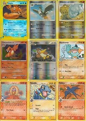 Pokemon 11 Card Lot with Holo's & Rare's Kingler #17,19,22,38,46,47,50,51,65,66,67