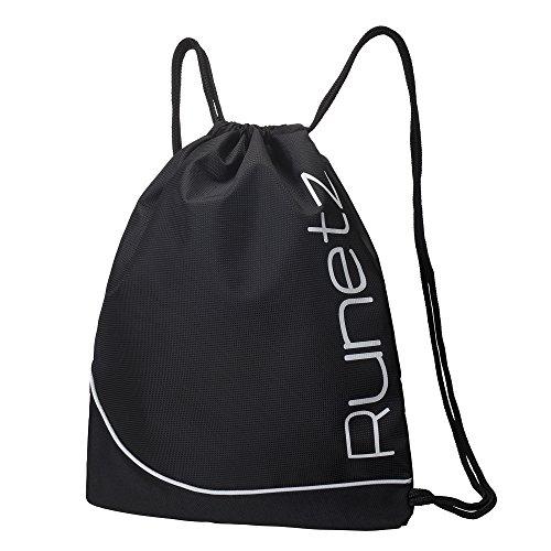 runetz-black-gym-sack-bag-drawstring-backpack-sport-bag-for-men-women-black