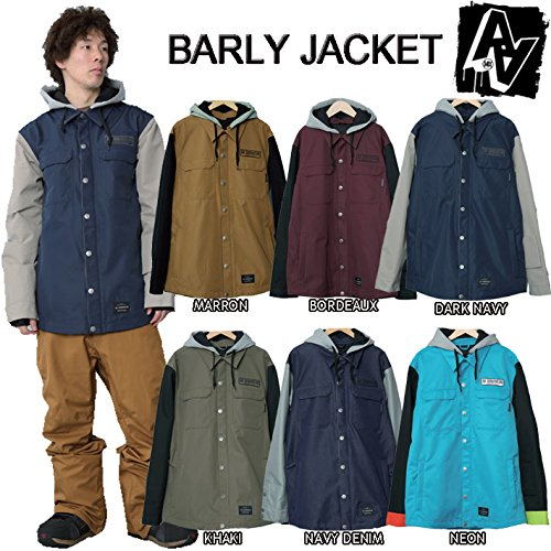 15-16 AA HARDWEAR スノーボードウェア BARLY JACKET BLOND CLLECTION (GRAVE_DIGGERS, L)