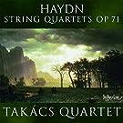 Joseph haydn quatuors a cordes, op.71
