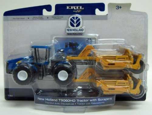 1:64 New Holland T9060Hd Tractor With Reynolds Scrapers front-832141