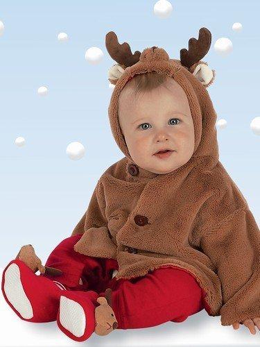 Bearington Baby Lil' Reindeer Coat (6-12 Months)