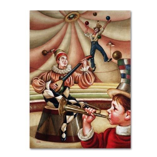 Trademark Fine Art Fiesta Allegro Artwork By Edgar Barrios, 18 By 24-Inch front-502671