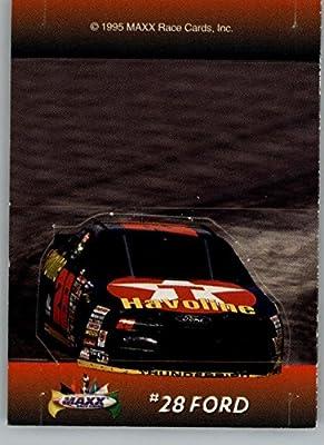 1995 Maxx Stand Ups #4 Ernie Irvan's Car