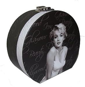 Marilyn monroe jewellery round keepsake box amazon co uk kitchen
