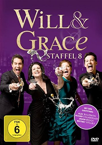 Will & Grace - Staffel 8 [4 DVDs]
