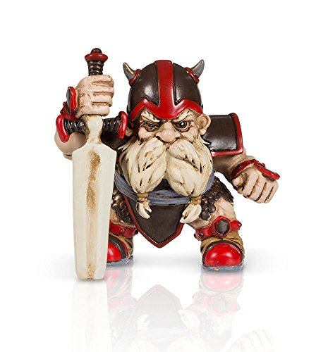 Battle Sword Garden Gnome 4""