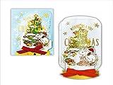 【クリスマス】ホールマーク 洋風クリスマスカード 立体 スヌーピー ジャークリスマスツリー 710156