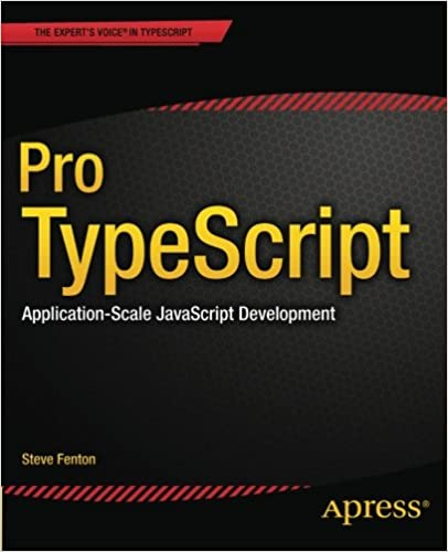 couverture du livre Pro TypeScript: Application-Scale JavaScript Development
