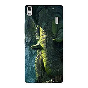 Ajay Enterprises Ft Rock Ganesha Back Case Cover for Lenovo K3 Note