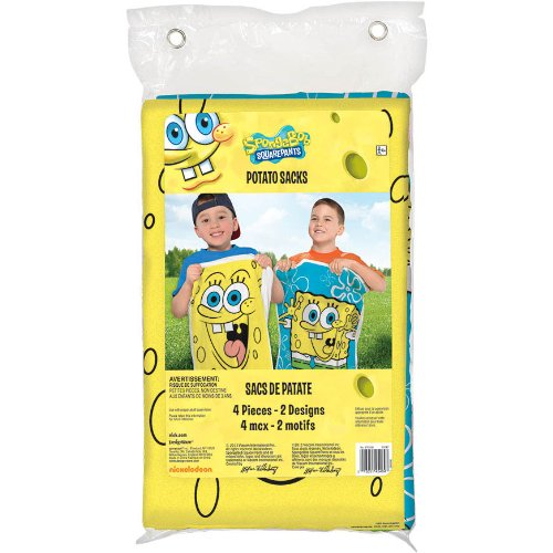 Spongebob Potatos Sacks (4ct)