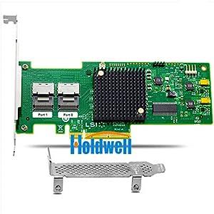 Holdwell LSI MegaRAID SAS 9240-8i 8-PORT Int 6GB/S Sata+sas LSI SAS2008