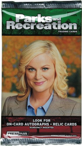 Press Pass 2013 Parks and Recreation Factory Sealed Trading Card Hobby Pack (Parks And Rec Season 5 compare prices)