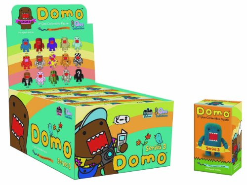 Domo Qee Series 3 Mystery 2 inch Figure Case Of 15