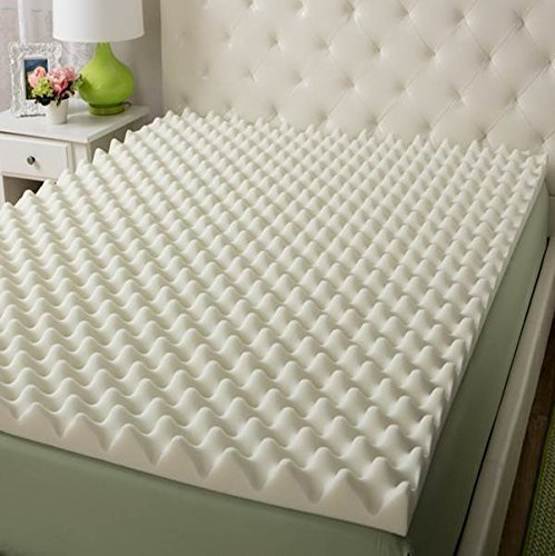 Eva Medical Eggcrate Foam Mattress Pad Thickness 3 Inches Standard Twin Bed 38 X 75 X 3
