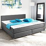 vidaXL Modernes Kasten Bett mit Matratze 200 x 140 cm