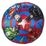 DC Comics Decorative Pillow -- Justice League Sheild Pillow